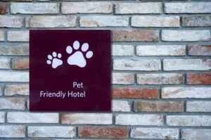 Pet Friendly Sign